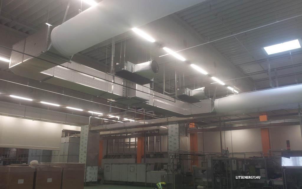 A textil légcsatorna számos alkalmazhatósági területe